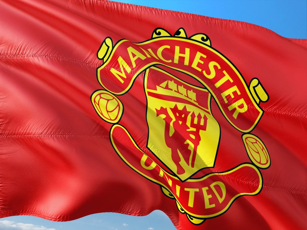 manchester united flagg